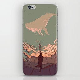 DH: Late Night Whale iPhone Skin
