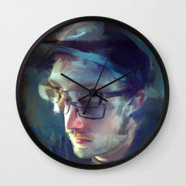 lou Stuber Wall Clock
