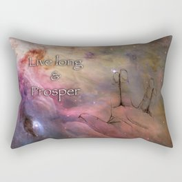 Live long & prosper Rectangular Pillow