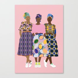 GIRLZ BAND Canvas Print