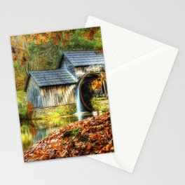Autumn 2015 at Mabry Mill Stationery Cards
