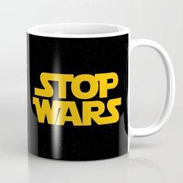 Starwars Concept Stop Wars Coffee Mug