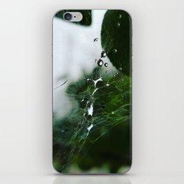 Webbed droplets iPhone Skin