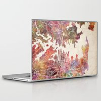 sydney Laptop & iPad Skins featuring Sydney by MapMapMaps.Watercolors