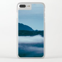Snowdonia Cloud Inversion (Summer 2019) Clear iPhone Case