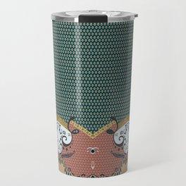 ss16 /// Handmade Arabesque II Travel Mug