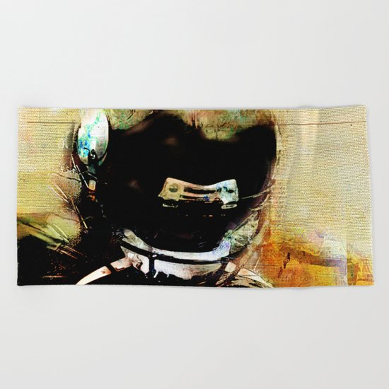 Quarterback Beach Towel
