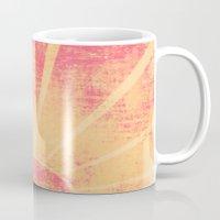 hemingway Mugs featuring The Sun Also Rises (Peach Wash) by Tami Goemilar