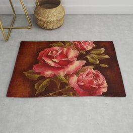 The Story of a Rose Rug
