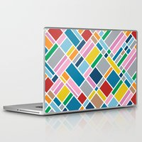 karu kara Laptop & iPad Skins featuring Map Outline 45  by Project M