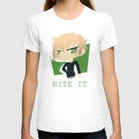 dmmd T-shirts featuring The Green Nerd by Collette Ren