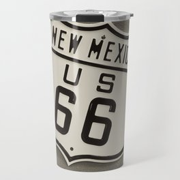 Route 66 sign in New Mexico. Travel Mug