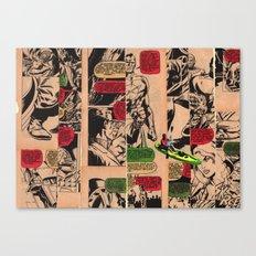Caiaque Prateado Canvas Print