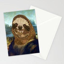 Sloth Lisa Stationery Cards