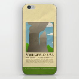Silver Screen Tourism: SPRINGFIELD, USA / THE SIMPSONS iPhone Skin