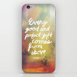 James 1:17 iPhone Skin