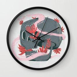 death and silence Wall Clock