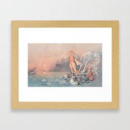 Swimmer Framed Art Print