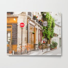 On Ile Saint-Louis Metal Print