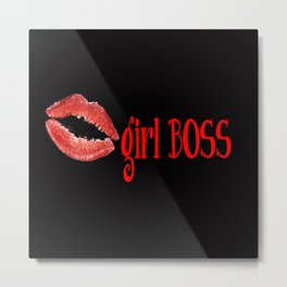 girl BOSS Metal Print