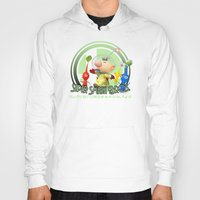 super smash bros Hoodies featuring Olimar - Super Smash Bros. by Donkey Inferno