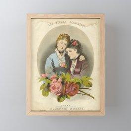 Les Filles D'Albion - G Jervis Rubini Framed Mini Art Print