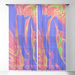 Acid Sheer Curtain