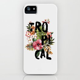 Tropical I iPhone Case