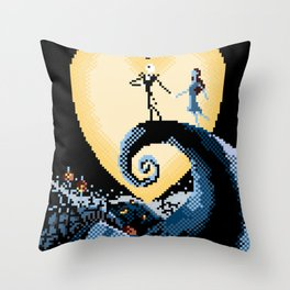 The NightmareBefore Christmas Throw Pillow