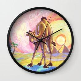 Animal Parade Camel Wall Clock