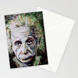 Albert Einstein - brainstorm Stationery Cards