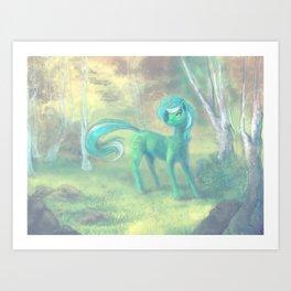Lyra Art Print
