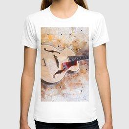 Electric Guitar Art T-shirt