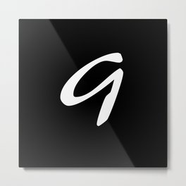 Alphabet ....G Metal Print