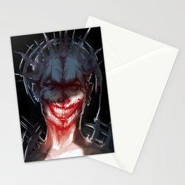 evil grin Stationery Cards