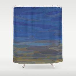 Sandwich Pond Shower Curtain