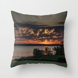 Morning Colors Throw Pillow