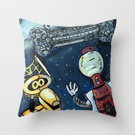 Mystery Science Theater 3000 Throw Pillow