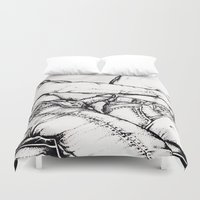 levi Duvet Covers featuring Levi Lovin' by vooduude