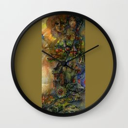 Worldly wealth Wall Clock