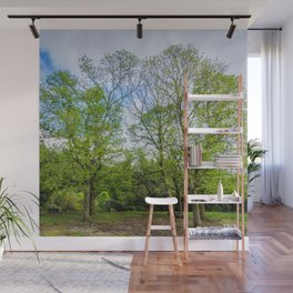 The six trees Wall Mural