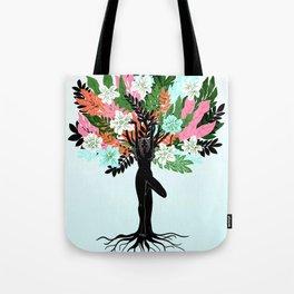 tree pose Tote Bag