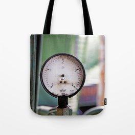 Broken pressure gauge Tote Bag