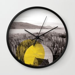 Sojourn series - Lake Tekapo Wall Clock