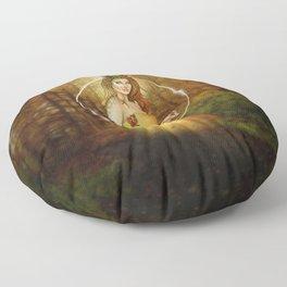 Autumn Woodland Fairy Floor Pillow