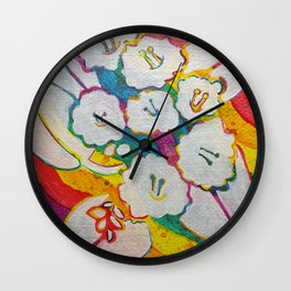 Leaves on the World Tree: Amhara Wanza Wall Clock