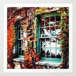 Terrace Foliage Art Print