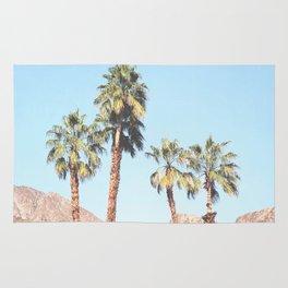 Palm Tree Desert Rug