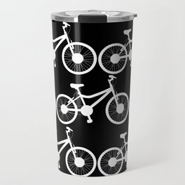 Invert bicycle pattern Travel Mug