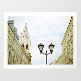 Moscow Moments Art Print